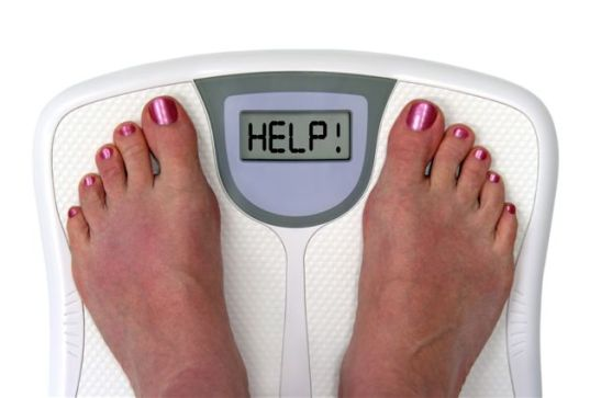 weighing scale fat