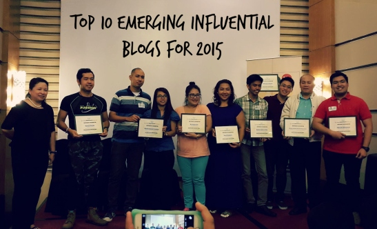 Top 10 Emerging Influential Blogs for 2015